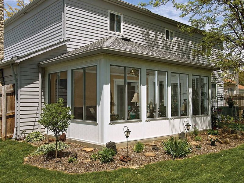 Ground Level Sunroom