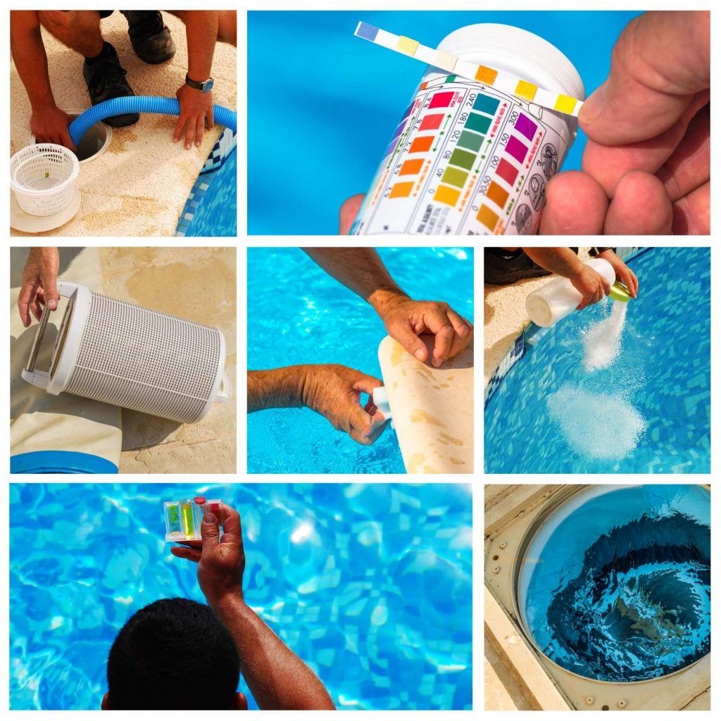 Maintenance of Swimming Pool